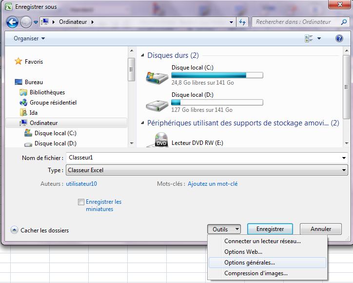 Ouverture De Fichier Excel Par Mot De Passe