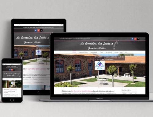 Site internet Le Domaine des Ecoliers