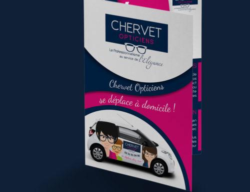 Brochure Chervet Opticiens