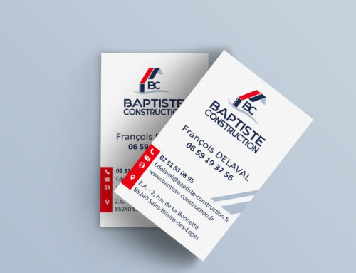 Carte de visite Baptiste Construction