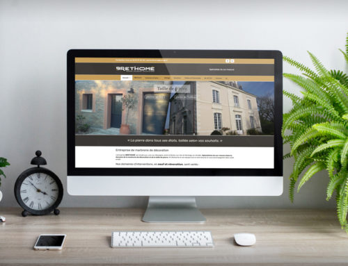 Site internet Brethomé