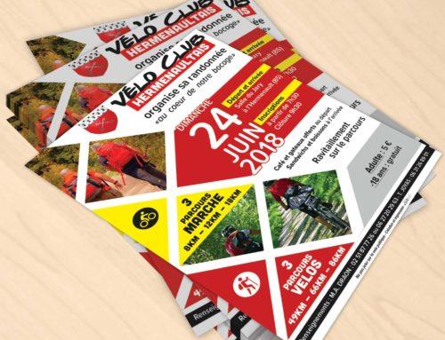 Flyer Vélo Club Hermenaultais