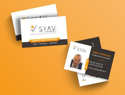 Carte de visite STAV