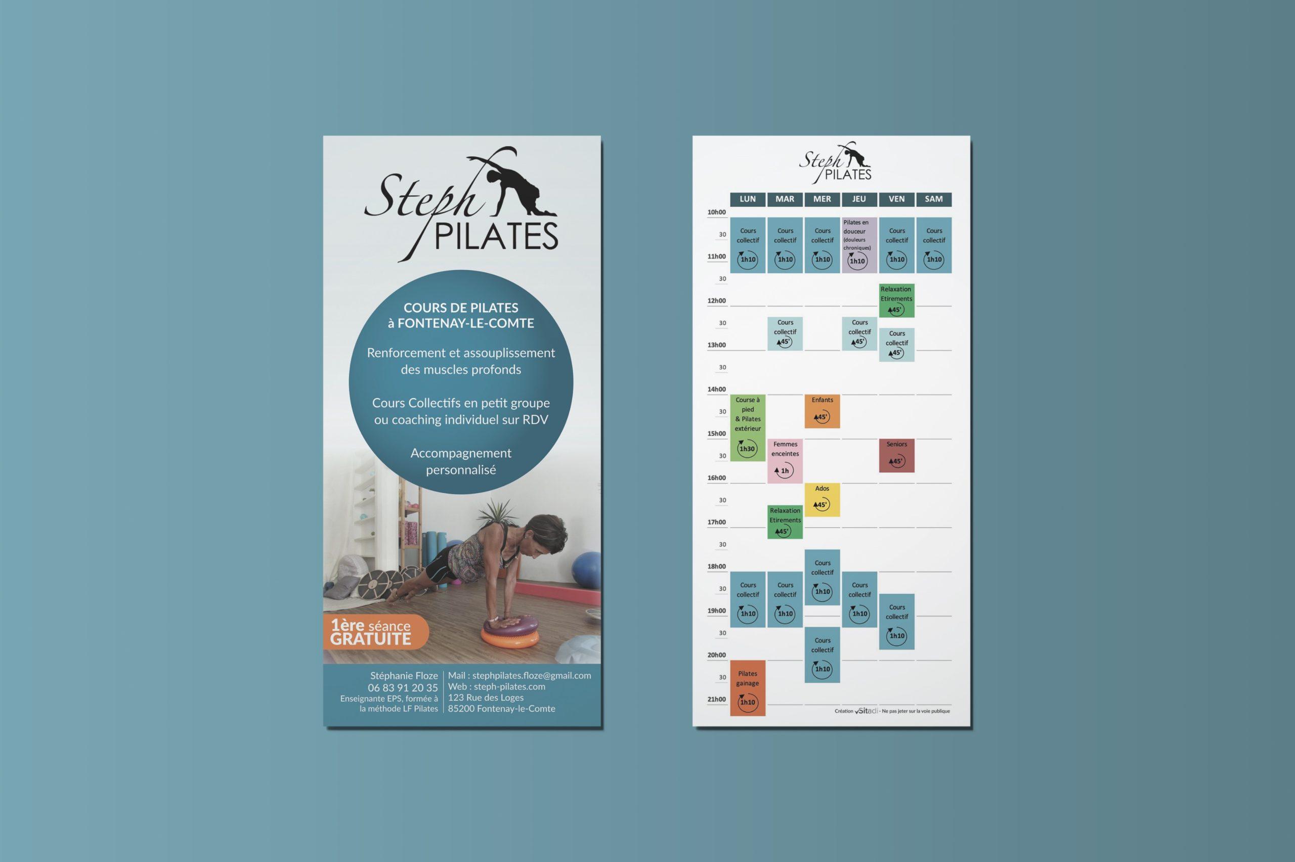 Flyer Sitadi - Flyer Steph Pilates