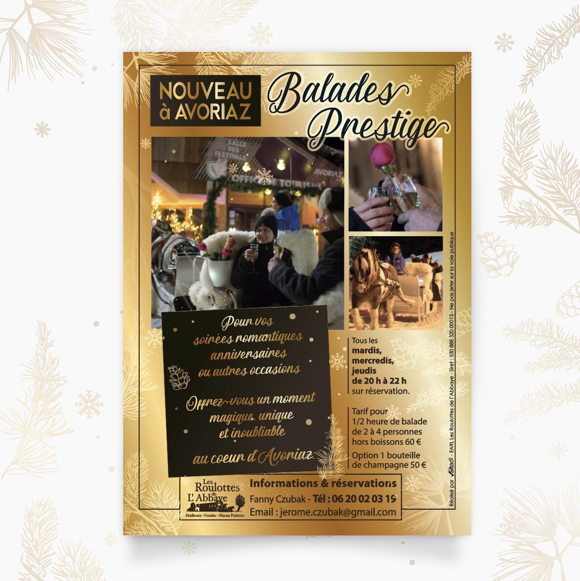 Flyer Sitadi - Les Roulottes de l'Abbaye Avoriaz